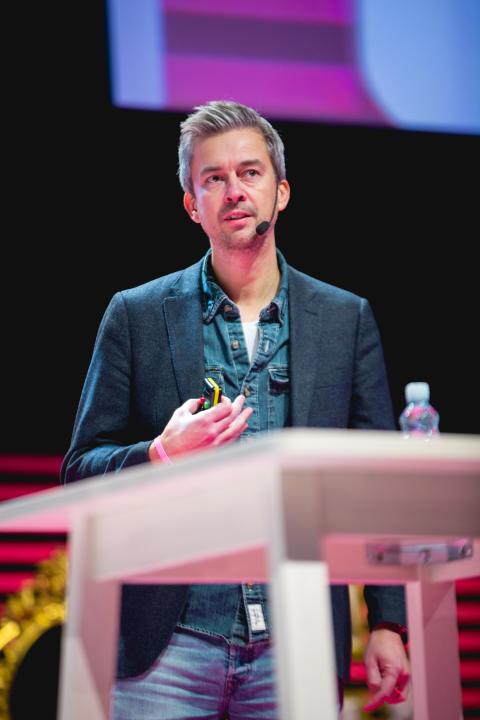 Ulf Skagerström, marknadschef och en av Matsmarts grundare.