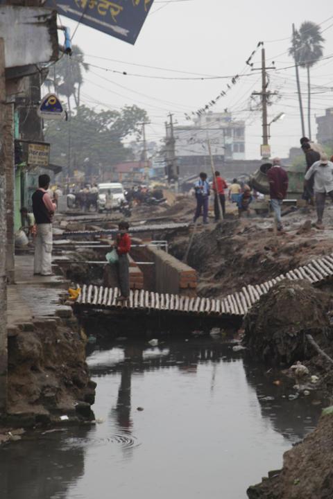 WaterAid når slummen i Hyderabad