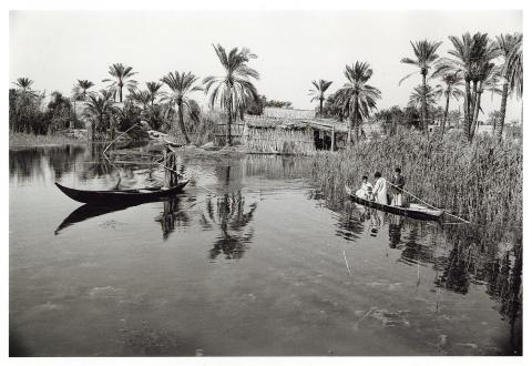 En värld på vatten - minnen från en resa i Iraks träskland på Medelhavmuseet