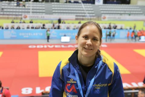 IBSA Judo World Championship Odivelas 2018 Nicolina Pernheim SWE 2