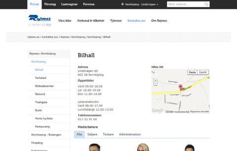 Nu flyttar rejmes.se till Molnet med ambitionen att bli Sveriges bästa bilhandelssajt.