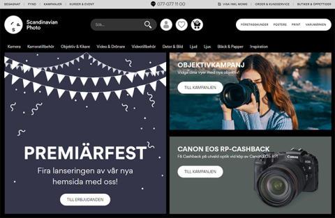 Scandinavian Photo stärker e-handelsaffären – lanserar ny digital plattform