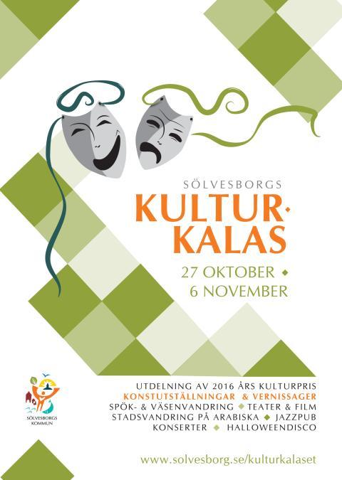 Sölvesborgs Kulturkalas 27 oktober - 6 november