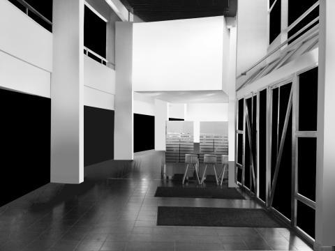 Installation med flytande gränser inleder 2014 i Vita Kuben