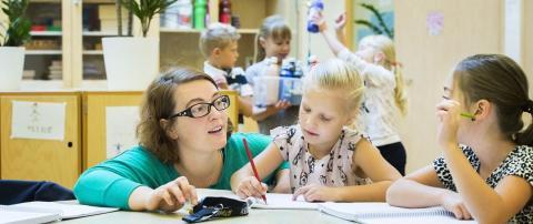 Vittra Vallentuna nominerade till kvalitetsutmärkelsen Bättre Skola