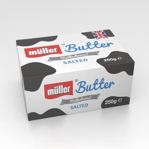 Müller Butter Salted