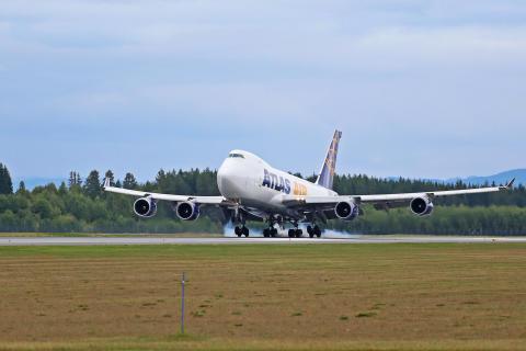 DHL åpnet ny fraktrute på Oslo lufthavn