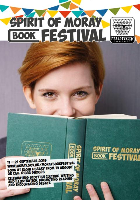 Spirit of Moray book festival tickets on sale