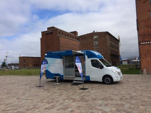 Beratungsmobil der Unabhängigen Patientenberatung kommt am 10. Januar nach Wismar.