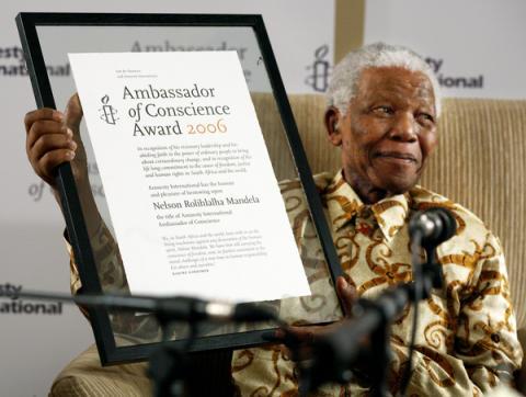 Sydafrika:Nelson Mandela är död