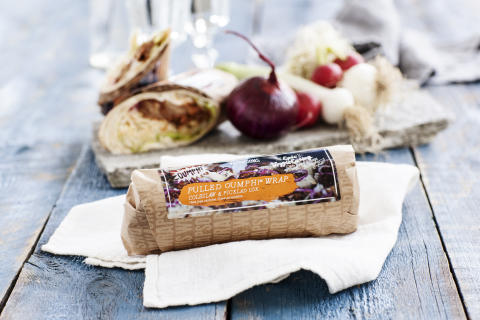 Här är Circle K:s nya kryddiga, vegetariska wrap