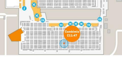 Besök Combimix i monter C11:47 på Nordbygg