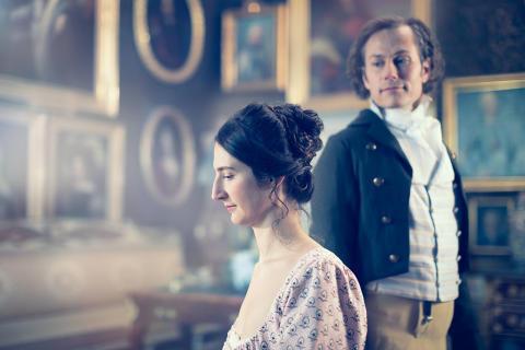 Rusning till Jane Austen-bal på Skoklosters slott