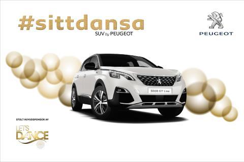 Familjefesten fortsätter - Peugeot sponsrar Let's dance