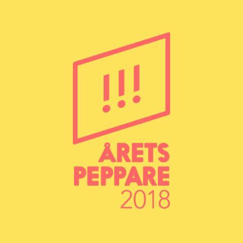 Juryn klar för Årets Peppare 2018