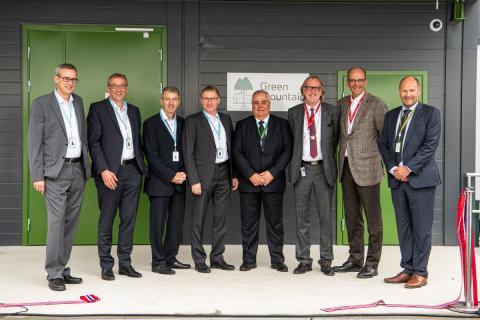 Green Mountain & Volkswagen Opening Ceremony