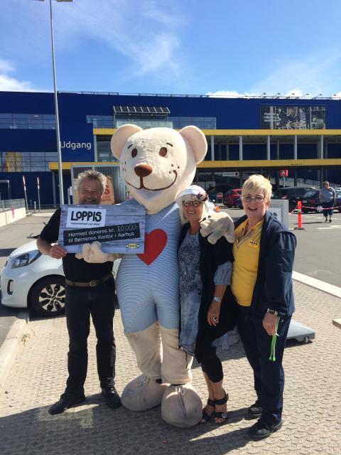 Loppemarked ved IKEA Aarhus 2016