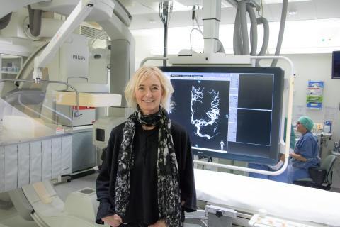 Sara Lewerentz, digitaliserings- och teknikdirektör vid Västerbottens läns landsting.