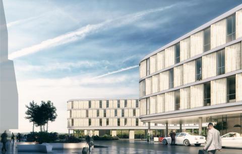 Nå åpner Bergen nye storstue, Comfort Hotel Bergen Airport.