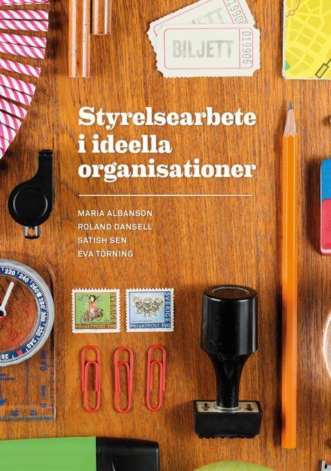 Ny bok: Styrelsearbete i ideella organisationer