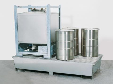 Opsamlingskar af rustfrit stål