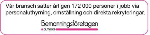 Bemanningsbranschen och svenska modellen