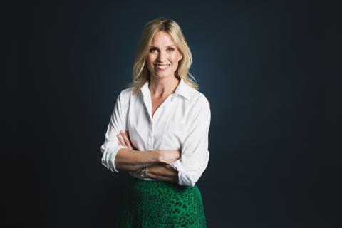 Liv Sandberg, byråchef Facebook i Sverige, Årets Alumn vid Luleå tekniska universitet 2019
