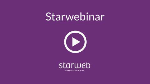 Nytt Webinar - Så skapar du fler affärer på nätet