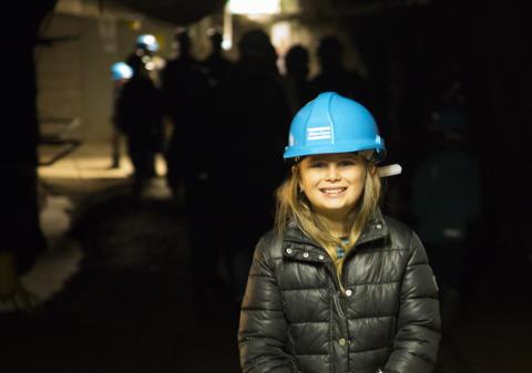 Sickla gruva – barnvisning