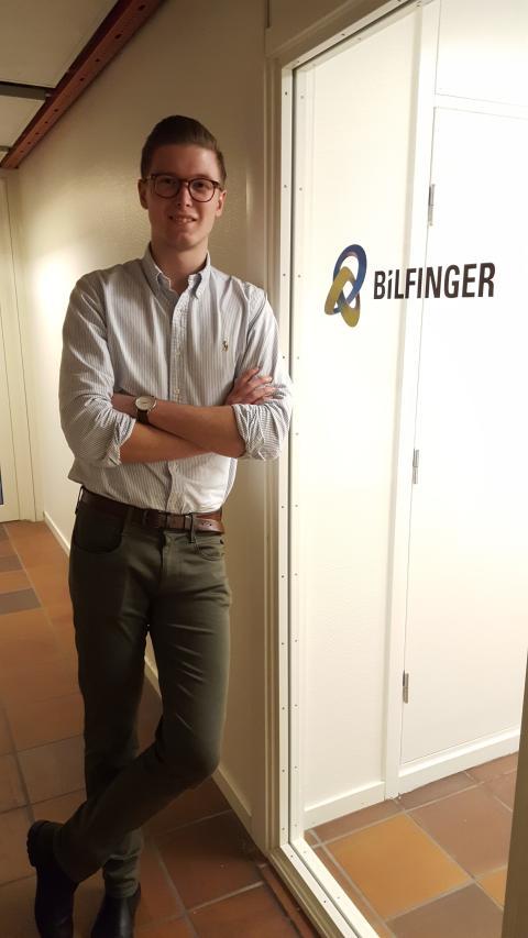 Bilfinger Trainee-program, Oskar Andersson berättar om sina upplevelser