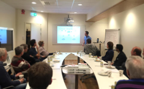 Lyckat seminarium med Exclusive Networks