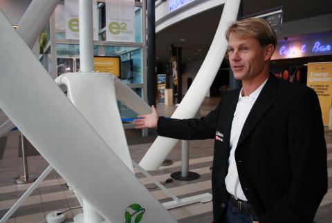 Brynäs och Gävle Energi satsar på vindkraftverk på Läkerol Arena