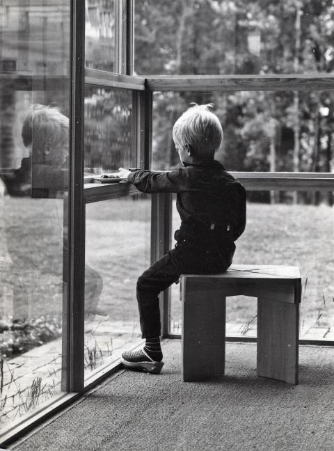 The Norwegian Glasshouse. Sverre Fehn, Villa Norrköping, 1964.