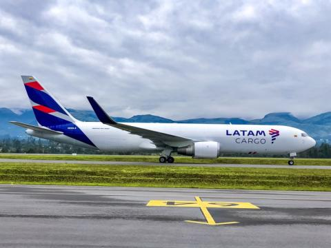 LATAM Cargo begins direct service between Bogotá and Panalpina's Huntsville gateway