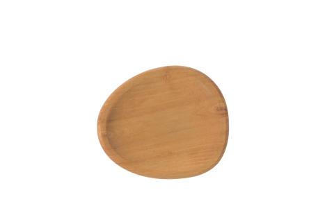 aida - RAW party plate, teak, vejl. pris 99,- DKK for 2 stk