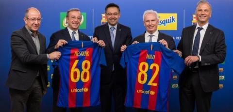 Nestlé og FC Barcelona inngår samarbeid