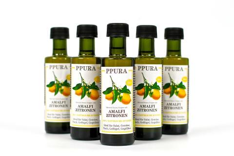 Ekologisk olivolja med Amalficitron