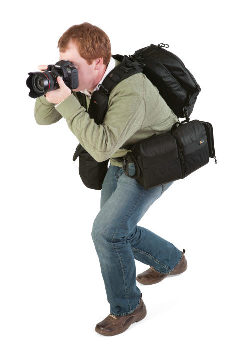 Lowepro S&F in action