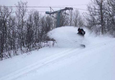 Tänndalen öppnar för skidåkning i Freeride Paradise