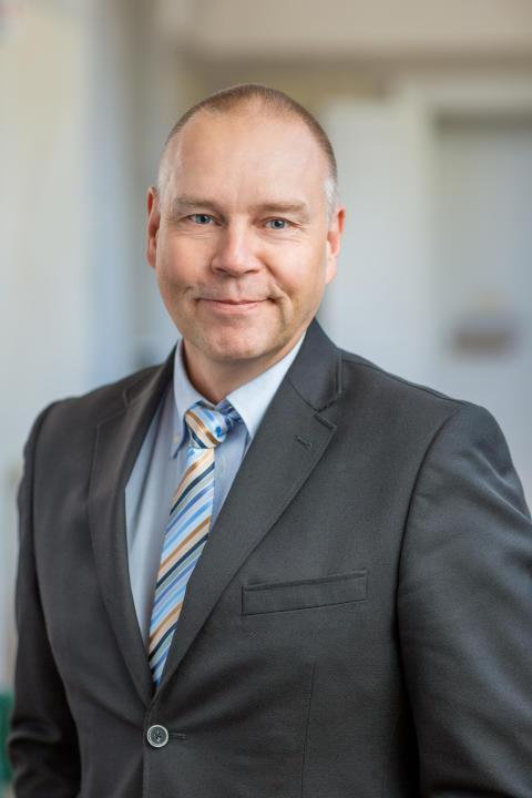 Anders Sveholm, driftchef Lunda