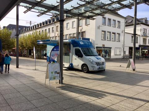 Beratungsmobil der Unabhängigen Patientenberatung kommt am 10. April nach Saarlouis.