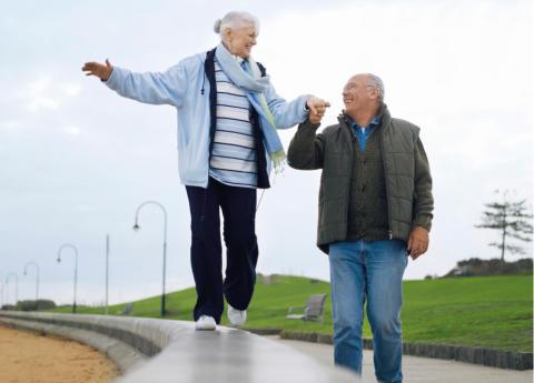 Pressinbjudan: Balansera mera och förebygg fallolyckor