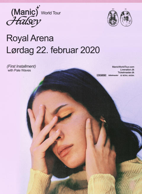 Halsey: Manic World Tour til Royal Arena lørdag 22. februar