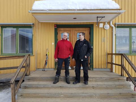 Sameskolan i Karesuando, Riksbyggen