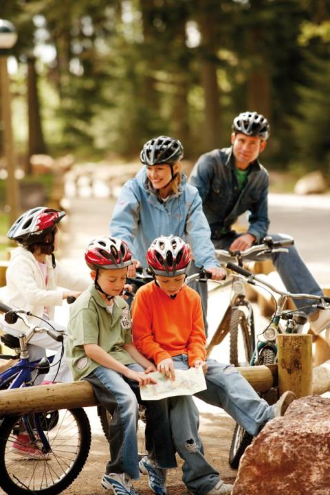 Clock-up quality 'dad time' this Father's Day with a short break at Center Parcs