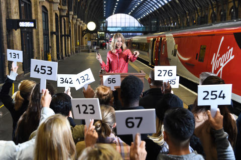Donna Air launches world-first app for First Class upgrades at London's King's Cross station