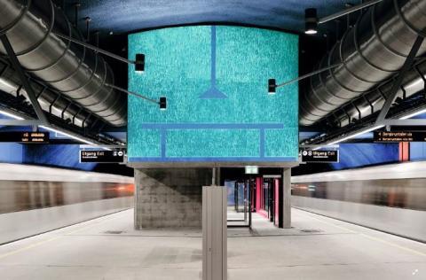 Løren stasjon nominert til Oslo bys arkitekturpris