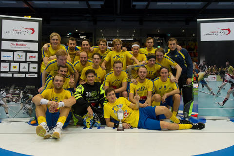 Sverige vann Euro Floorball Tour