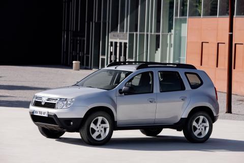 Dacia Duster - Nu med antisladd som standard!