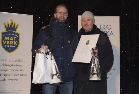 Tredje pris i Matverk 2016 går till Blekinge och Mormor Märtas finfina smågurkor